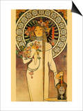 Trappistine Liquors Posters by Alphonse Mucha