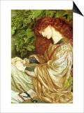 La Pia De' Tolomei Poster by Dante Gabriel Rossetti