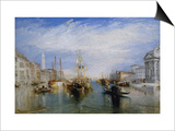 Venice, from the Porch of Madonna Della Salute, Ca. 1835 Prints by J. M. W. Turner