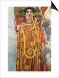 Hygeia Posters by Gustav Klimt