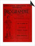 Football Programme Prints