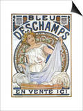 Bleu Dsechamps Sold Here Prints by Alphonse Mucha