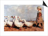 To Pasture New Prints by James Guthrie