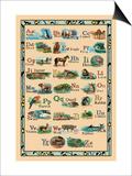 Animal Alphabet Prints