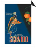 Servido Selected Oranges Posters by  Machirart