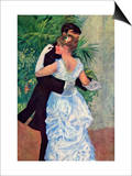 The Dance In The City Prints by Pierre-Auguste Renoir