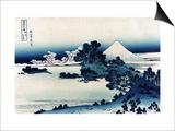 Schichiri Beach in Sagami Province Prints by Katsushika Hokusai