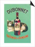 Dubonnet Vin Tonique au Quinquina Poster