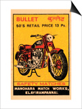Bullet Saftety Matches Posters