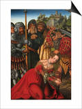 Martyrdom of Saint Barbara Posters by Lucas Cranach the Elder