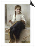 Sewing Prints by William Adolphe Bouguereau
