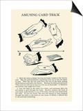 Amusing Card Trick Print