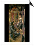 King Cophetua and the Beggar Maid Prints by Sir Edward Coley Burne-Jones
