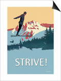 Strive! Plakat