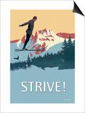 Strive! Print