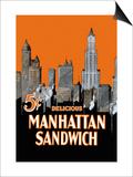Manhattan Sandwich Art