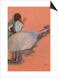 Ballet Dancer Print by Edgar Degas