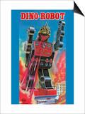 Dino-Robot Poster