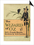 The Scarecrow, a Character in the Story, 'the Wizard Of Oz' Prints by William Denslow