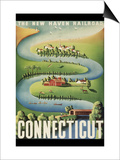 Connecticut Posters
