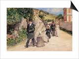 The Wedding March Prints by Theodore Robinson