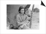 Migrant Agricultural Worker's Family Art by Dorothea Lange
