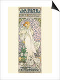La Dame Aux Camelias Prints by Alphonse Mucha