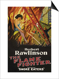 The Flame Fighter - Smoke Eaters Print