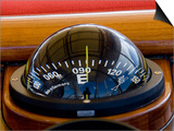 "Compass Onboard Sy ""Adele"" Pointing to East, 2006 Print by Rick Tomlinson"