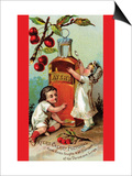 Ayer's Cherry Pectoral Print