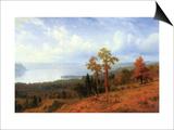 View of The Hudson River Valley Prints by Albert Bierstadt