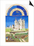 Le Tres Riches Heures Du Duc De Berry - September Posters av Paul Herman & Jean Limbourg