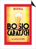 Birra Bosio Caratsch Poster