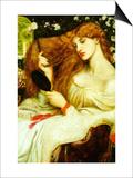 Lady Lilith Prints by Dante Gabriel Rossetti