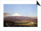 Cotopaxi, Ecuador [2] Art by Frederic Edwin Church