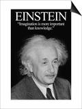Einstein Posters by Wilbur Pierce