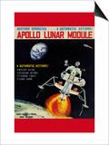 Apollo Lunar Module Poster