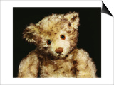 "Close Up of a Steiff ""Dual"" Mohair Teddy Bear, C, 1926 Posters by  Steiff"