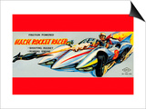 Mach Rocket Racer Posters