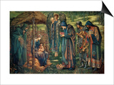 Star of Bethlehem Poster by Sir Edward Coley Burne-Jones