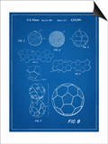 Soccer Ball Patent Posters