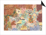 Just Like a Garden Run Wild; Wie Ein Verwilderter Garten Prints by Paul Klee