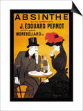 Absinthe J. Edouard Pernot Posters by Leonetto Cappiello