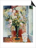 Summer Flowers in a Vase Art by Arthur Percy
