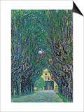 Way To The Park Prints by Gustav Klimt