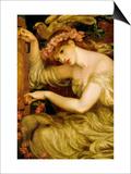 A Sea Spell Posters by Dante Gabriel Rossetti