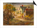 The Old Farm Prints by LaVere Hutchings