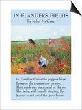 In Flanders's Fields Posters by John McCrae