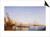 The Grand Canal, Venice Prints by Felix Ziem