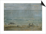 By the Shore, St. Ives. Poster by James Abbott McNeill Whistler